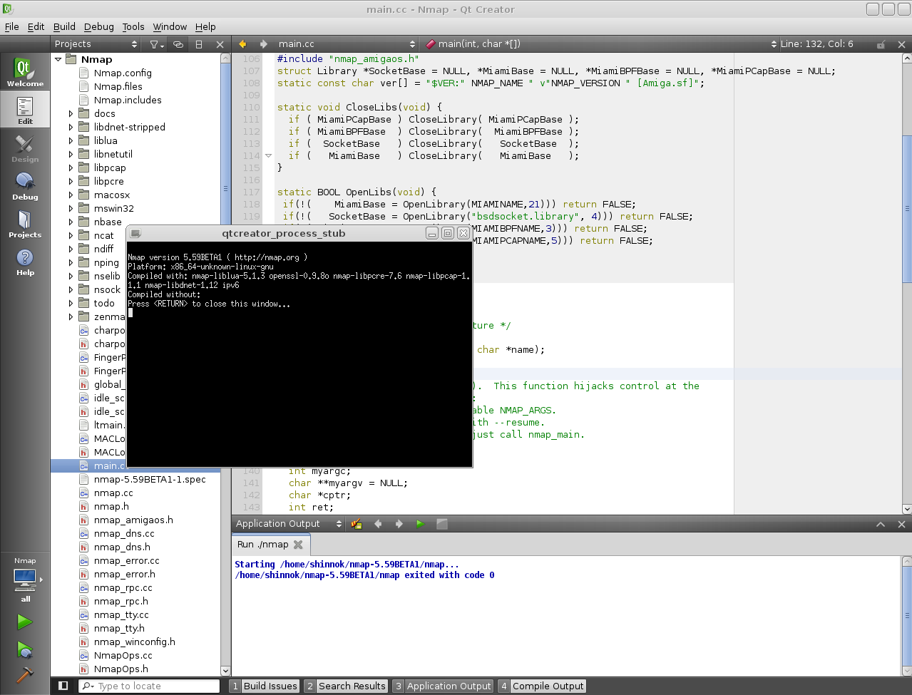 Using the Qt Creator IDE with non Qt projects